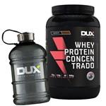 Protein Concentrado 900g + Galão Fume 1,8l - Dux Nutrition
