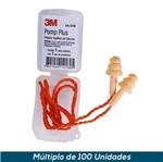 Protetor Auditivo 3M POMP Plus C/ Cordão Poliéster