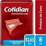 Protetor de Cama Cotidian Tamanho Único 92 X 64cm 8un