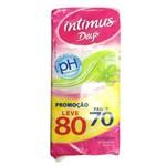 Protetor Diário Intimus Days com Perfume Leve 80 Pague 70