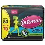 Protetor Diário Intimus Days Sport 80 Un