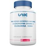 Protetor Hepático Natural - Alcachofra 300mg + Silimarina 50mg - 60 Cáps Unicpharma