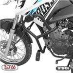 Protetor Motor e Carenagem SCAM Yamaha XTZ 150 Crosser C/ Pedaleiras