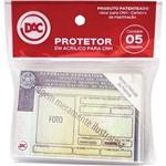 Protetor para Documentos Cnh 88x62mm Dac Pacote com 05