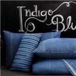 Protetor / Porta Travesseiros Jeans 100% Algodão - Sultan