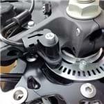 Protetor Sensor ABS SCAM Suzuki V-STROM 1000 2014 em Diante Preto