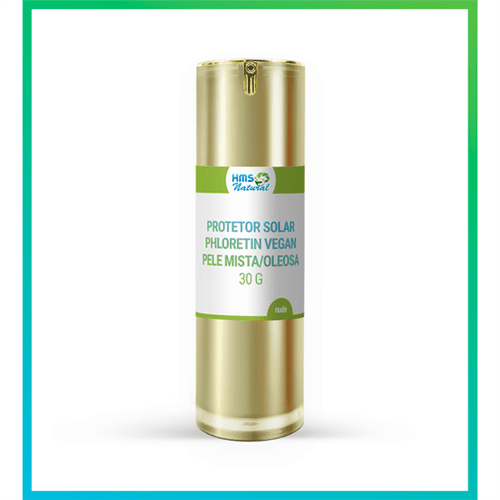 Protetor Solar Phloretin Vegan Pele Mista/oleosa 30g Nude