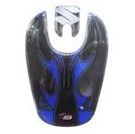 Protetor Tampa Gasolina Suzuki Yes Azul Speed Style Protetor Tampa Gasolina -Suzuki Yes-Azul Speed Style