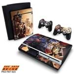 PS3 Fat Skin - Transformers Revenge Of The Fallen Adesivo Brilhoso