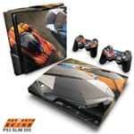 PS3 Slim Skin - Need For Speed Hot Pursuit Adesivo Brilhoso