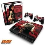 PS3 Slim Skin - Red Dead Redemption Adesivo Brilhoso