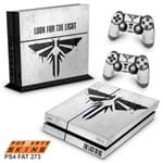 Ps4 Fat Skin - The Last Of Us Firefly Adesivo Brilhoso