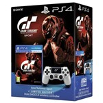 PS4 Gran Turismo Sport + Sony Dualshock 4 Wireless Controle Limited Edition