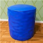 Puff Redondo Corino Azul