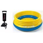 Pula Pula Master Inflável Intex Amarelo 48267 com Bomba Inflar