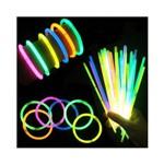 Pulseira Neon Coloridos Tubo com 100 Unidades