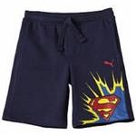 Puma Bermuda Superman Infantil Azul