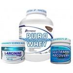 Puro Performance Whey 2kg + Glutamina + L-Arginine - Performance Nutrition