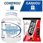 Puro Whey 2 Kg (baunilha) e Ganhe Maltodextrin 1 Kg - Performance Nutrition