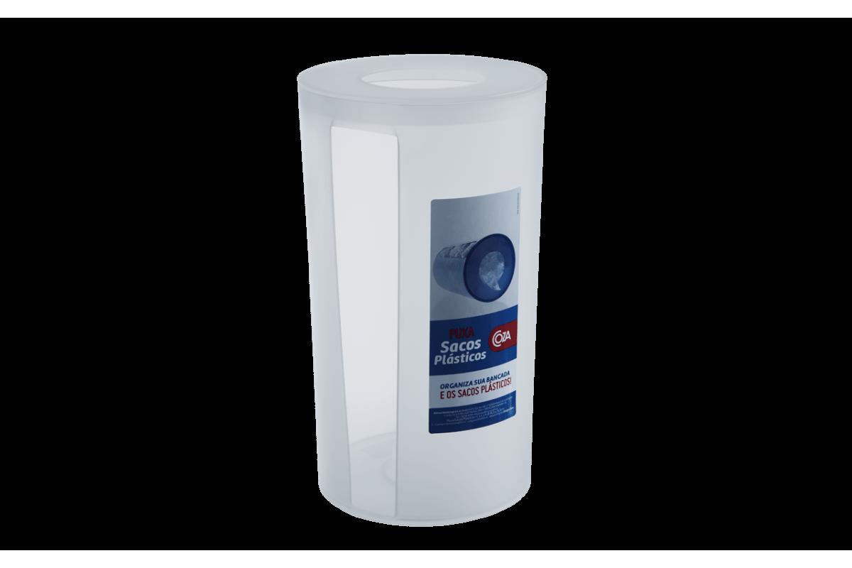Puxa Sacos Plásticos - Sobre a Pia PP Ø 14,3 X 25,3 Cm Natural Coza