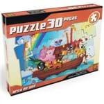 Puzzle 30 Peças Arca de Noé