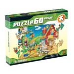 Puzzle 60 Peças Fazendinha