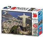 Puzzle 3D Corcovado Rio de Janeiro 500 Peças - Multikids