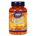 Pyruvate 600mg (100 Cápsulas) Now Sports