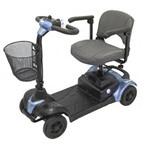 Quadriciclo Cadeira de Rodas Motorizada Scooter Elétrica Ottobock Scott S Azul Portátil
