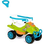 Quadriciclo Carro Cross Completo Verde/Azul Calesita