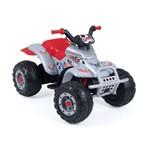 Quadriciclo Corral T Rex Prata 12V - Peg-Perego