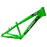 Quadro 4 Trix de Bike Wheeling Gios Verde Horizontal