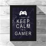 Quadro A4 Gamer Can't Keep Calm