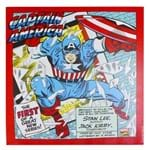 Quadro Capitão America Ação