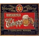 Quadro Cartão Papel Mdf - Cerveja Fundo Madeira (sort)