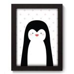 Quadro com Moldura - 19x25 - Pinguim - N3097