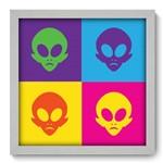 Quadro com Moldura - 33x33 - Alien - N1137
