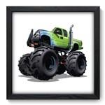 Quadro com Moldura - 33x33 - Caminhão Monstro - N3046
