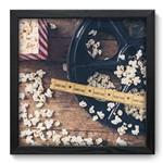 Quadro com Moldura - 33x33 - Cinema - N3042