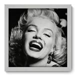 Quadro com Moldura - 33x33 - Marilyn Monroe - N1022