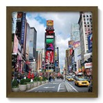 Quadro com Moldura - 33x33 - New York - N2209