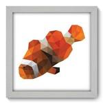 Quadro com Moldura - 22x22 - Peixe Palhaço - N1040