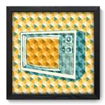 Quadro com Moldura - 33x33 - Televisão - N3033