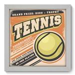 Quadro com Moldura - 22x22 - Tennis - N1
