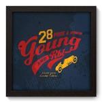 Quadro com Moldura - 22x22 - Young - N3035