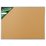 Quadro de Cortiça Standard Alumínio 90x60cm - Souza 1013711