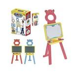 Quadro de Desenho 2 em 1 com Pedestal Infantil Brinquedo Educativo - Art Brink