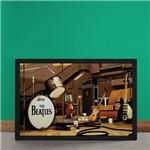 Quadro Decorativo Beatles Palco Instrumentos