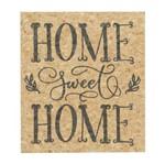 Quadro Decorativo Bege Home Sweet Home 20x23cm Urban