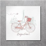 Quadro Decorativo Canvas Bike em Paris